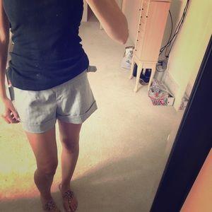 Pants - Black and grey dress shorts